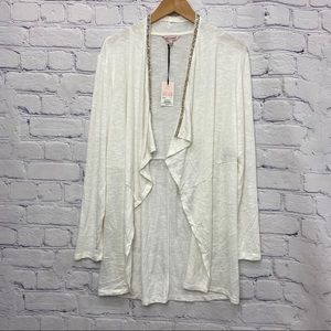 NEW Juicy Couture Ladies White Cardigan with Gems